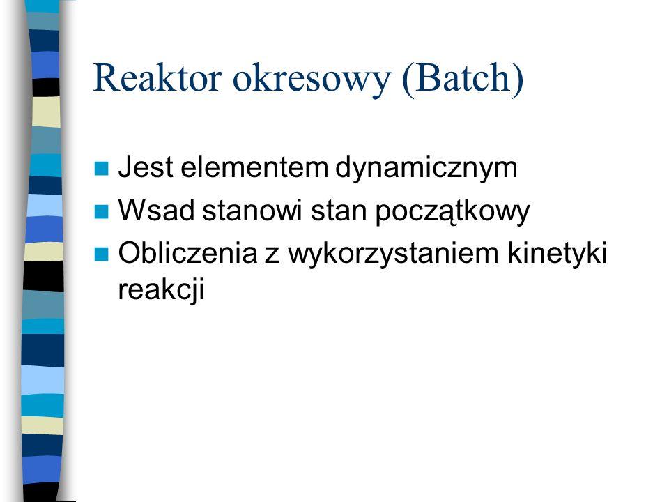 Reaktor okresowy (Batch)