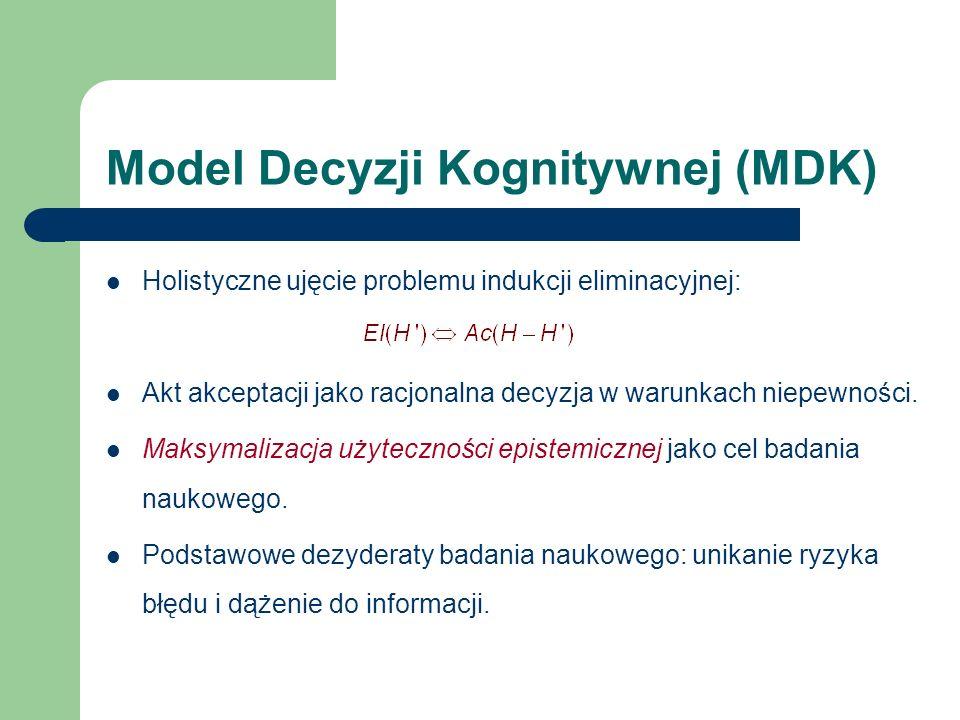 Model Decyzji Kognitywnej (MDK)