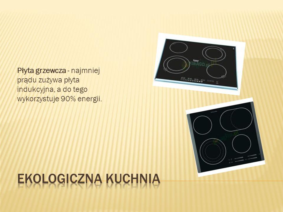 Płyta grzewcza - najmniej prądu zużywa płyta indukcyjna, a do tego wykorzystuje 90% energii.