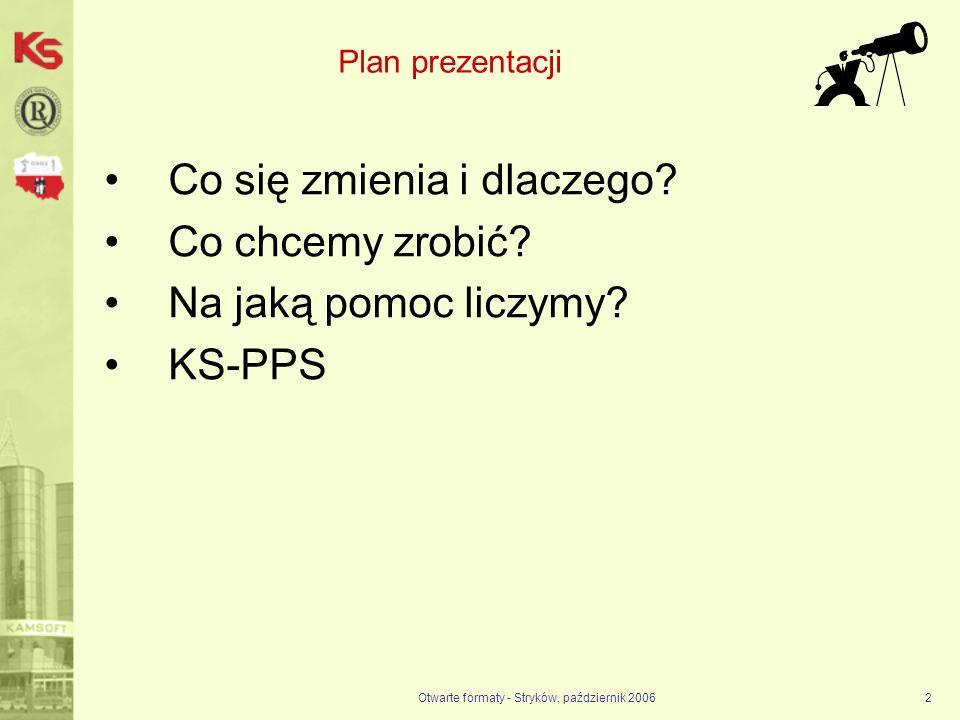 Otwarte formaty - Stryków, październik 2006