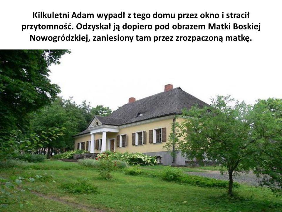 Kilkuletni Adam wypadł z tego domu przez okno i stracił przytomność