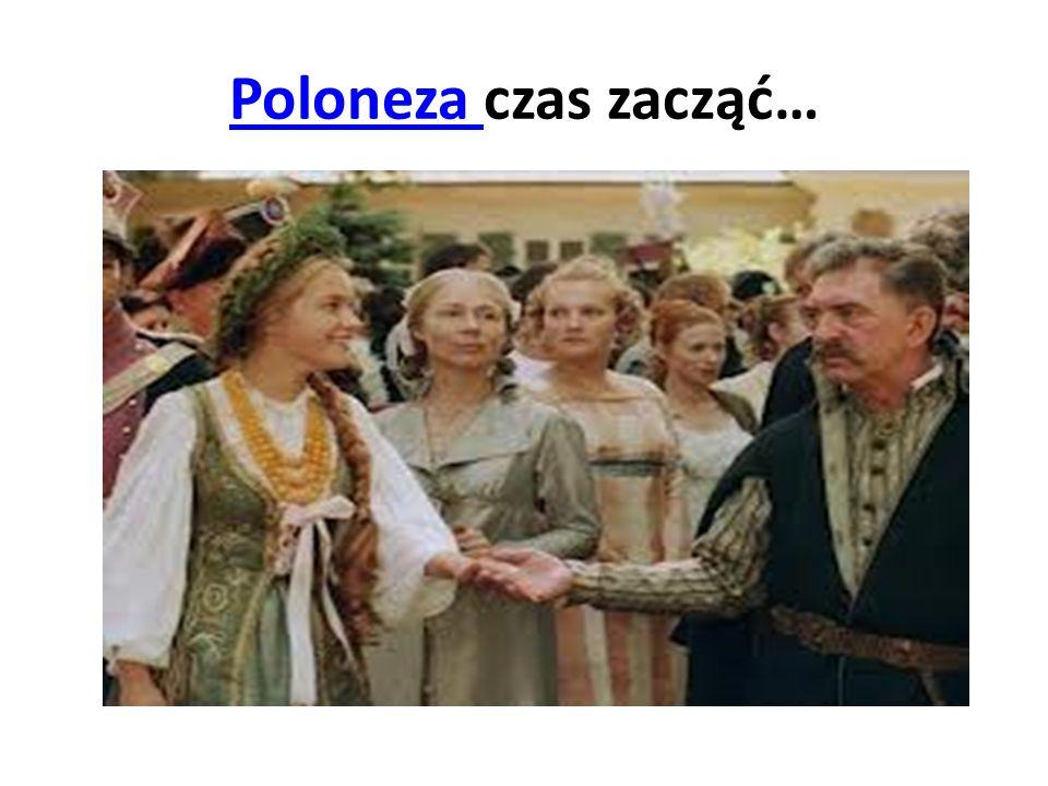 Poloneza czas zacząć…