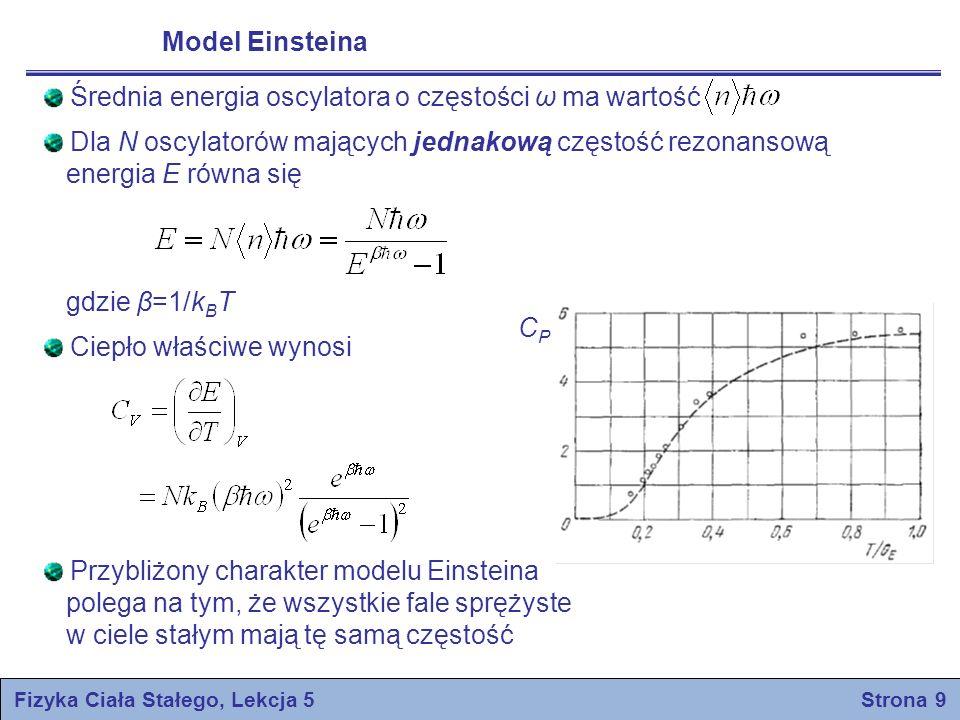Fizyka Ciała Stałego, Lekcja 5 Strona 9