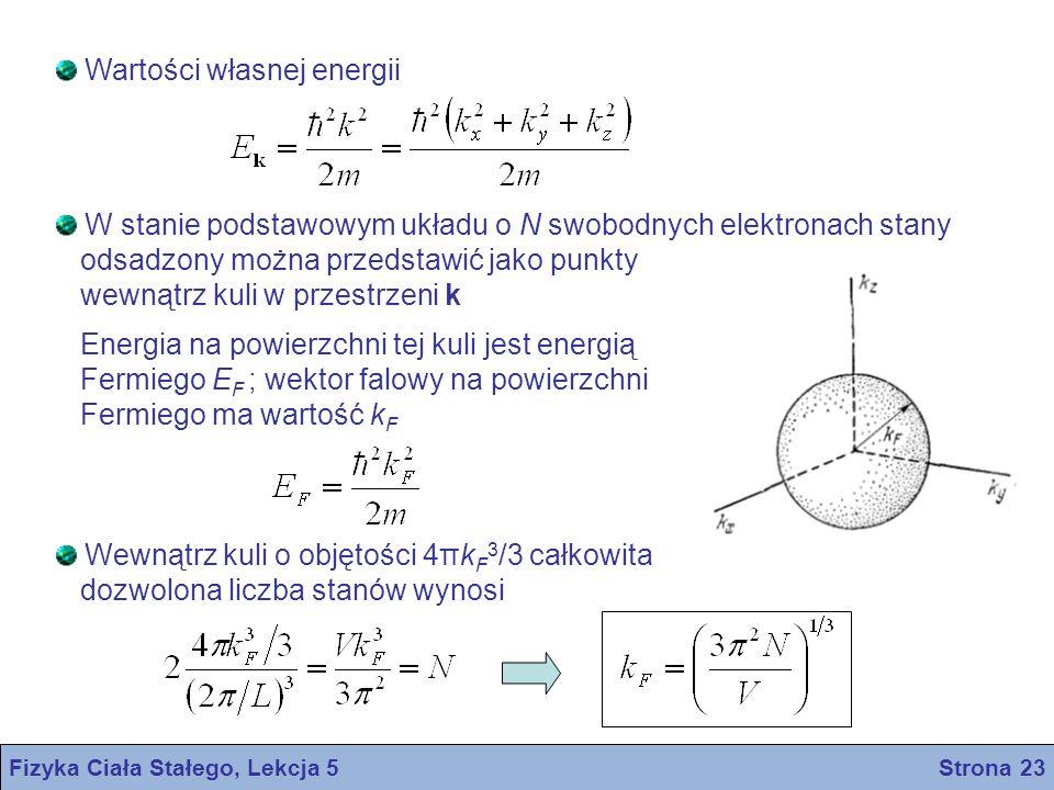 Fizyka Ciała Stałego, Lekcja 5 Strona 23