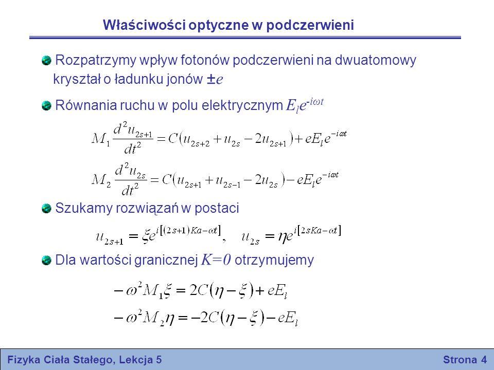Fizyka Ciała Stałego, Lekcja 5 Strona 4