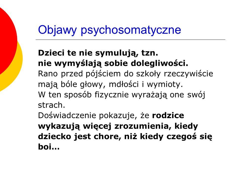 Objawy psychosomatyczne