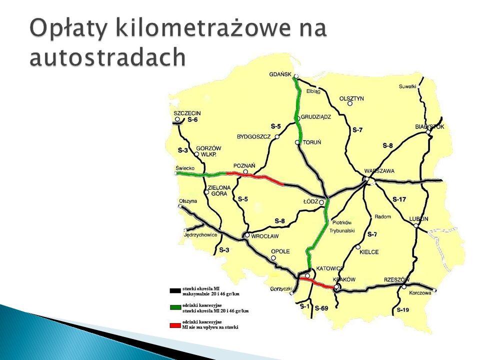 Opłaty kilometrażowe na autostradach