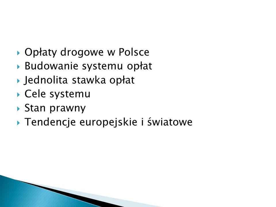 Opłaty drogowe w Polsce
