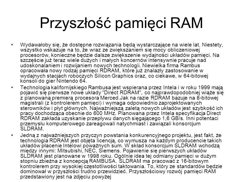 Przyszłość pamięci RAM