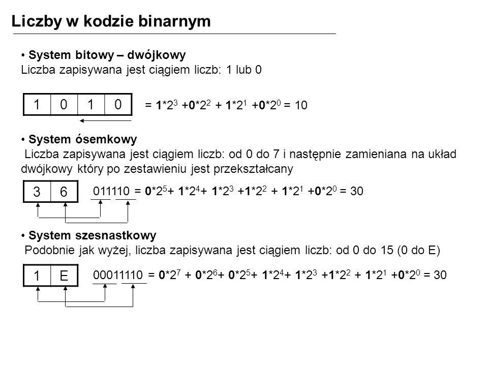 Liczby w kodzie binarnym