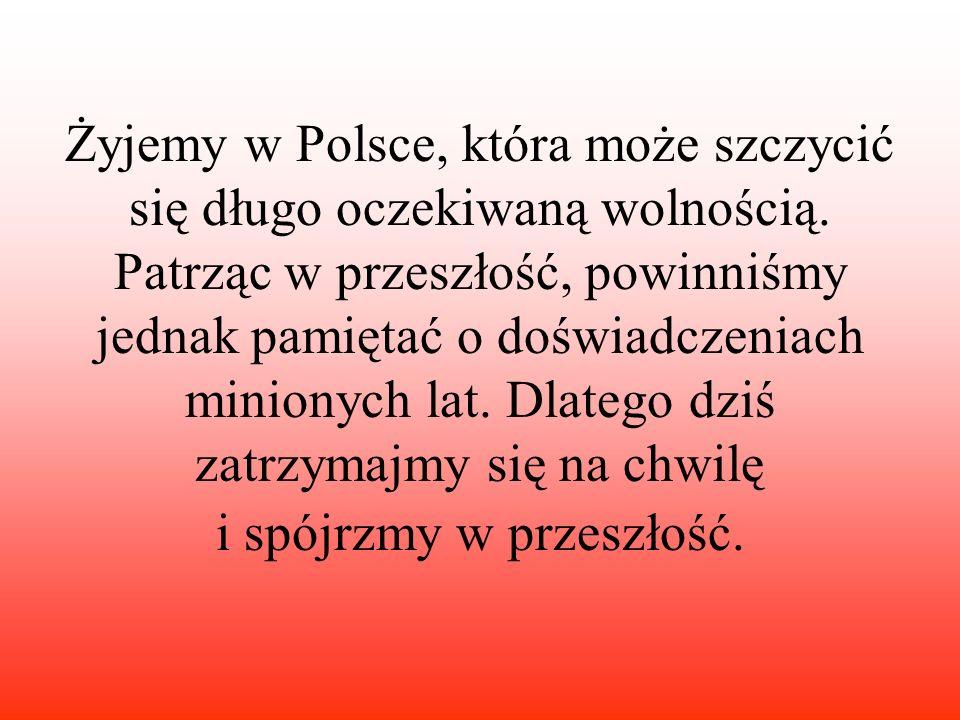 Żyjemy w Polsce, która może szczycić się długo oczekiwaną wolnością