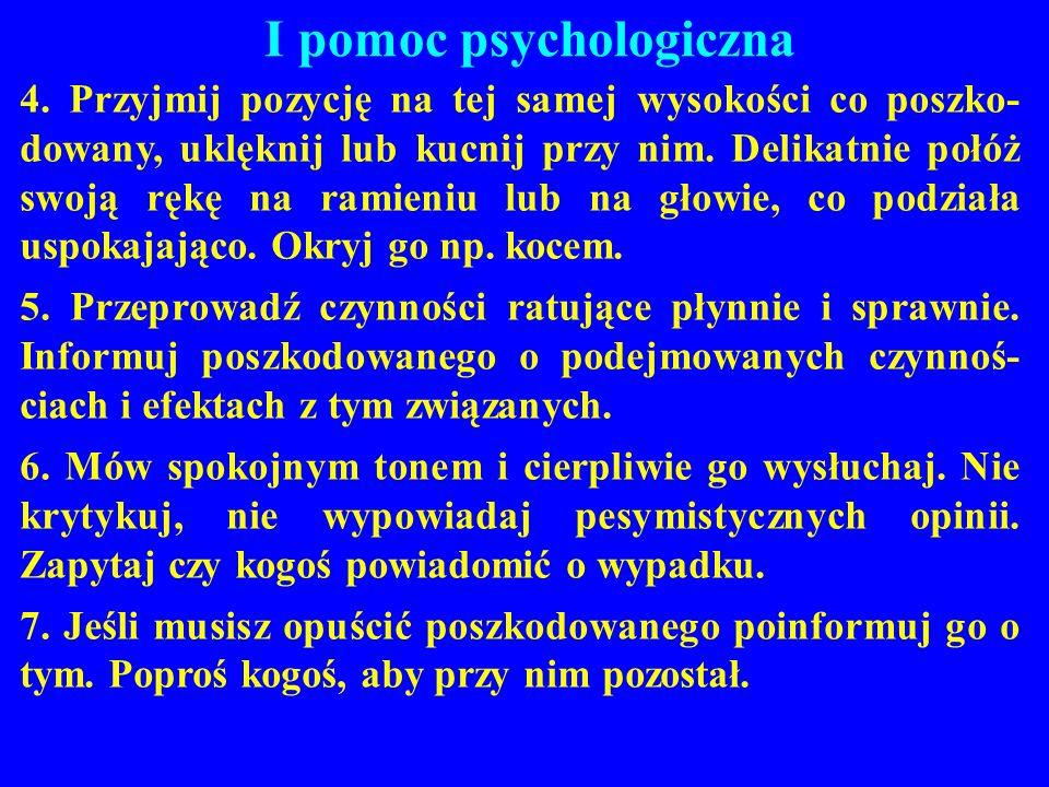 I pomoc psychologiczna