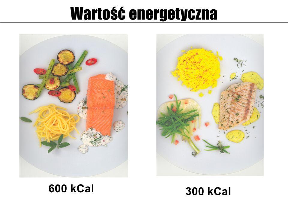 Wartość energetyczna 600 kCal 300 kCal 22