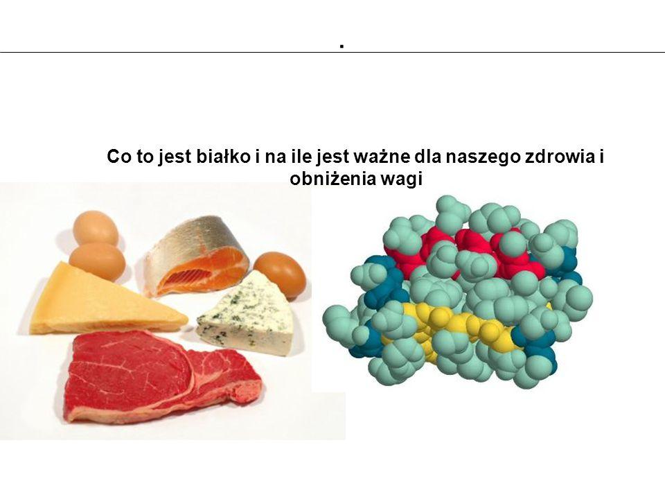 . Co to jest białko i na ile jest ważne dla naszego zdrowia i obniżenia wagi 32