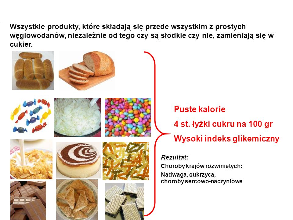 Wysoki indeks glikemiczny