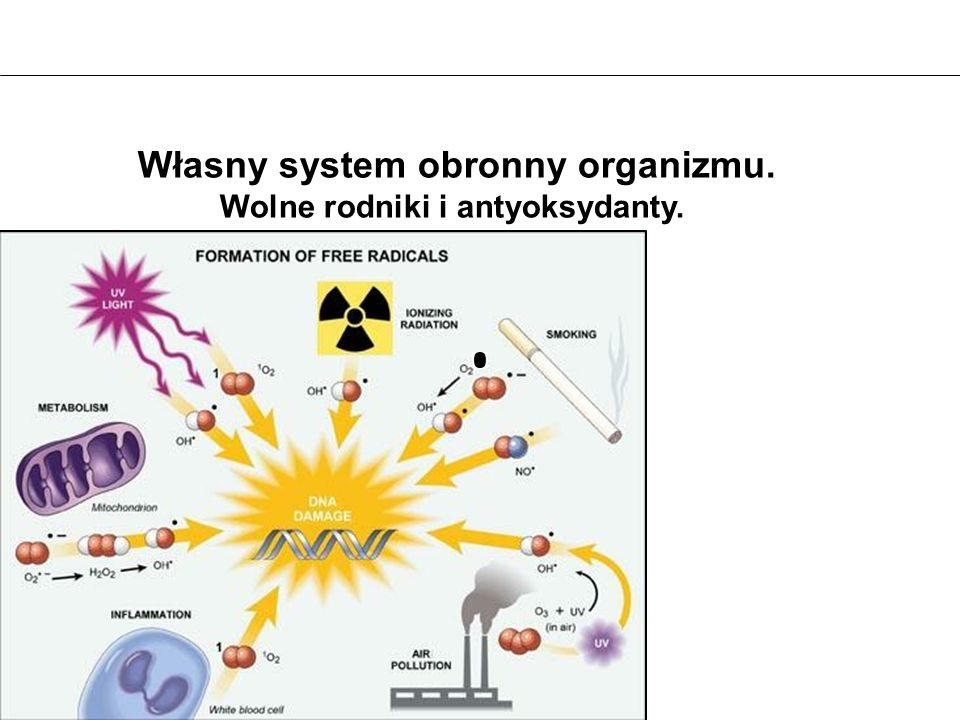 Własny system obronny organizmu.