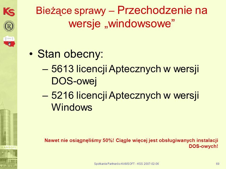"""Bieżące sprawy – Przechodzenie na wersje """"windowsowe"""