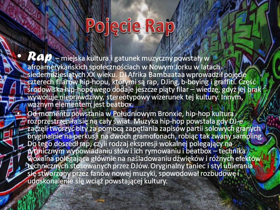 Pojęcie Rap