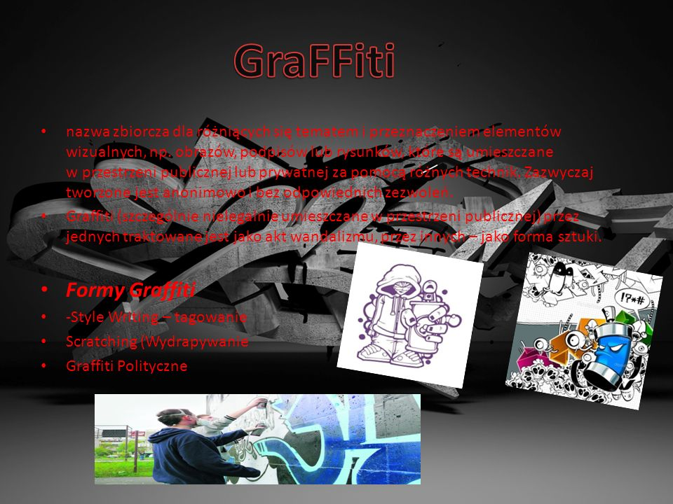 GraFFiti Formy Graffiti