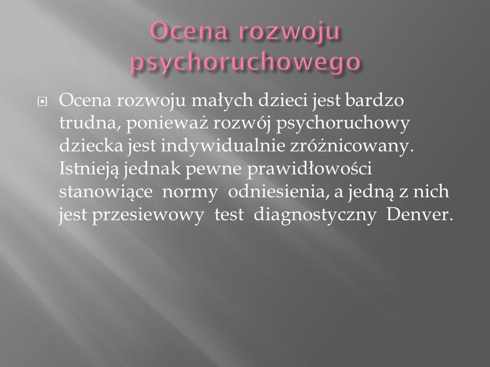 Ocena rozwoju psychoruchowego