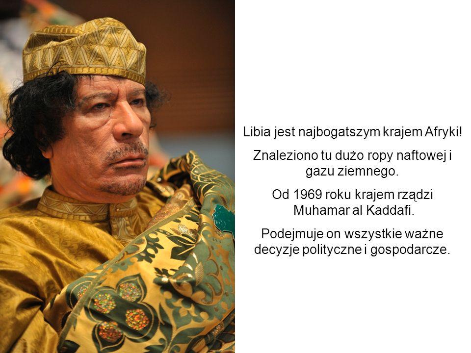 Libia jest najbogatszym krajem Afryki!