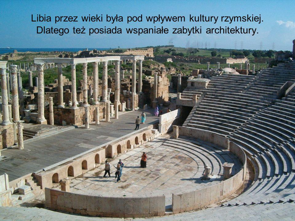 Libia przez wieki była pod wpływem kultury rzymskiej