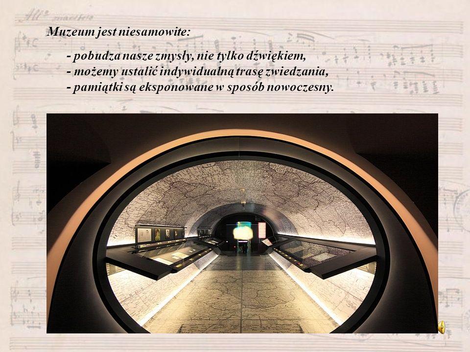 Muzeum jest niesamowite:
