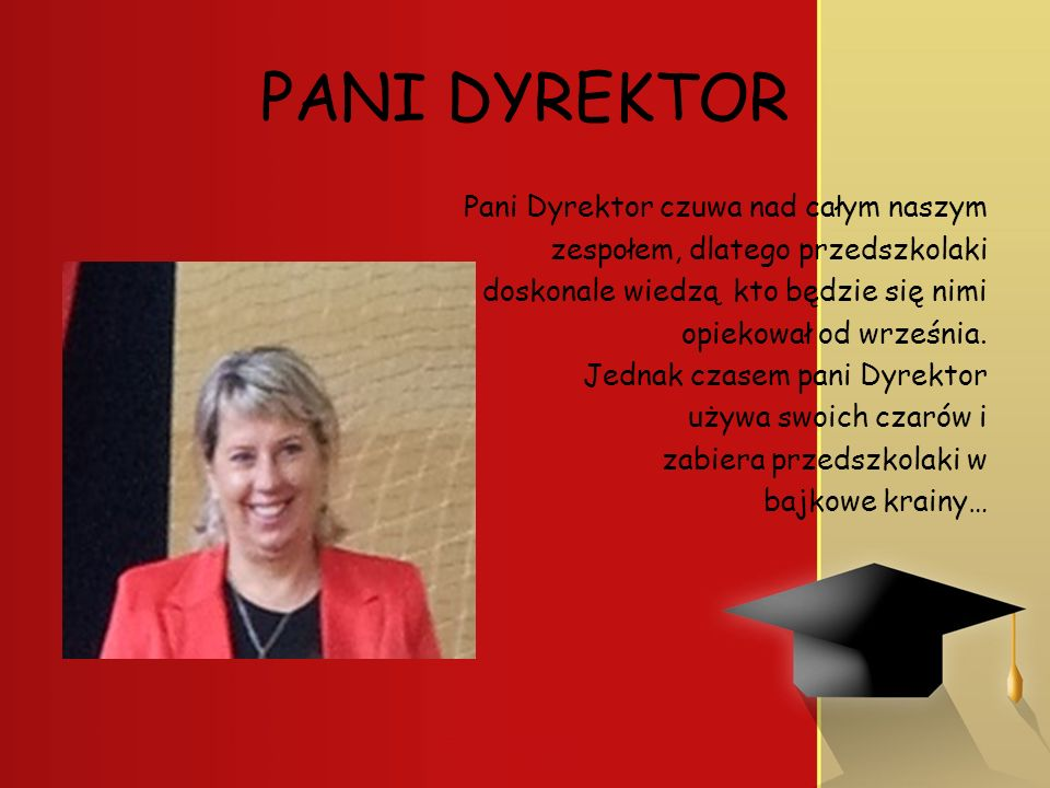 PANI DYREKTOR