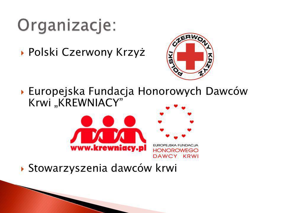 Organizacje: Polski Czerwony Krzyż