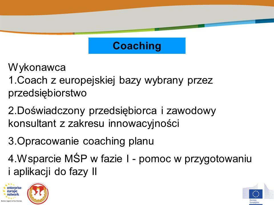 1.Coach z europejskiej bazy wybrany przez przedsiębiorstwo