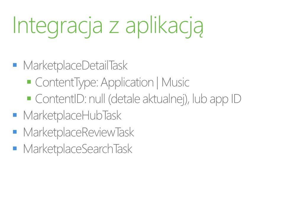 Integracja z aplikacją