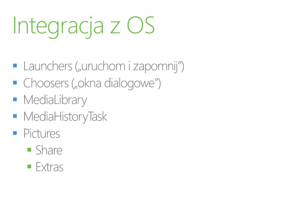 """Integracja z OS Launchers (""""uruchom i zapomnij )"""