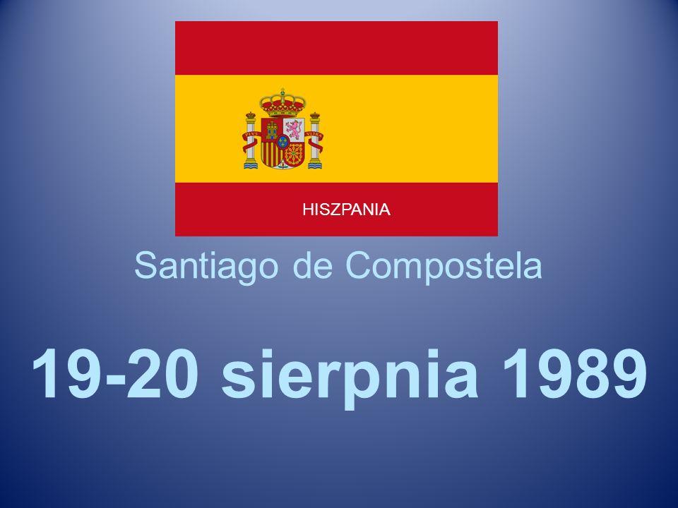 Santiago de Compostela 19-20 sierpnia 1989