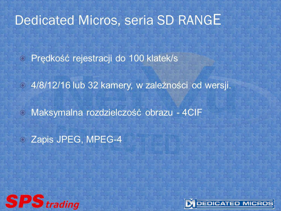 Dedicated Micros, seria SD RANGE