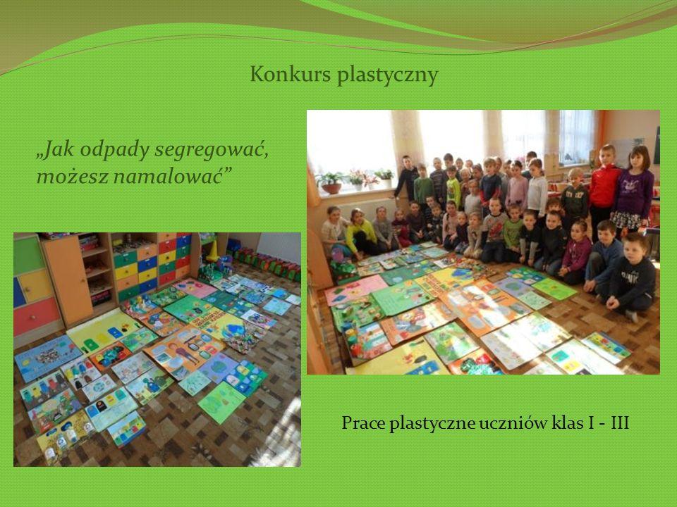 Prace plastyczne uczniów klas I - III