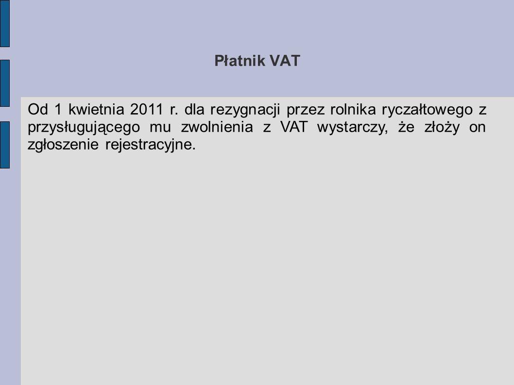 Płatnik VAT