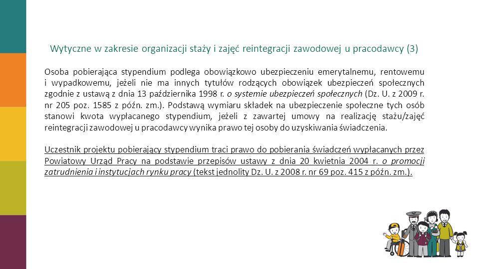 Wytyczne w zakresie organizacji staży i zajęć reintegracji zawodowej u pracodawcy (3)