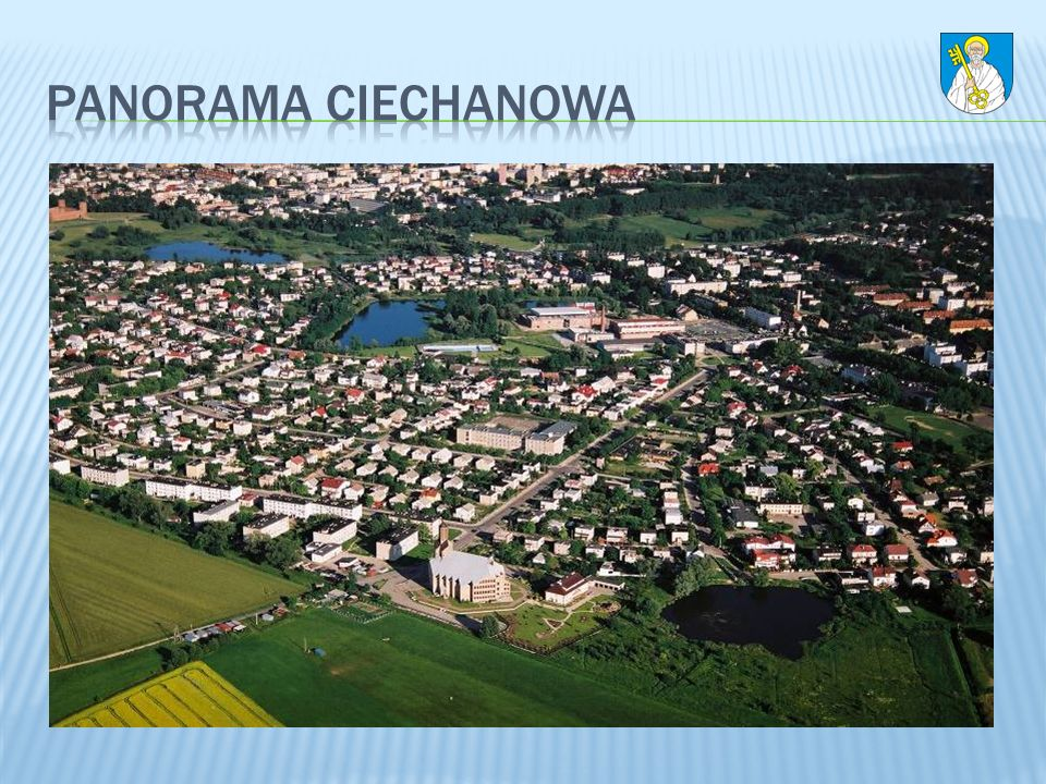 Panorama Ciechanowa