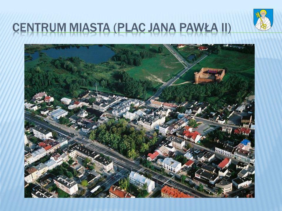 Centrum miasta (Plac Jana Pawła II)