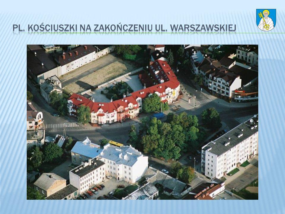 Pl. Kościuszki na zakończeniu ul. Warszawskiej