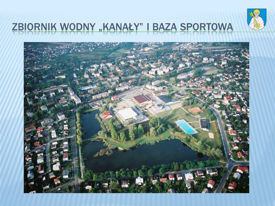"""zbiornik wodny """"Kanały i baza sportowa"""