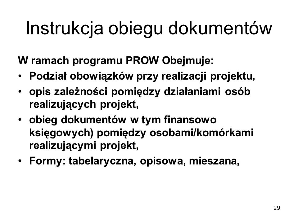 Instrukcja obiegu dokumentów