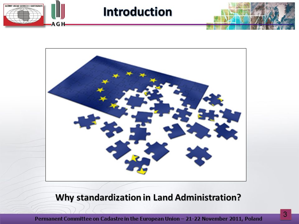 Why standardization in Land Administration