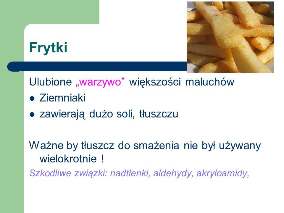 """Frytki Ulubione """"warzywo większości maluchów Ziemniaki"""