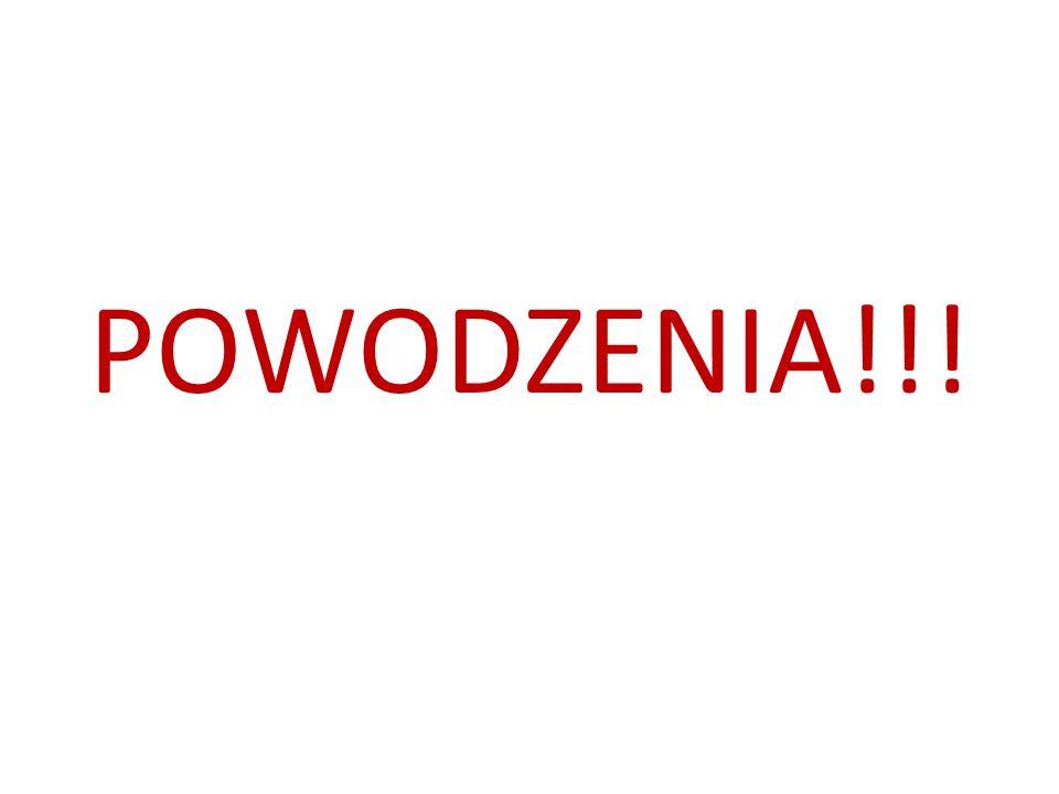 POWODZENIA!!!