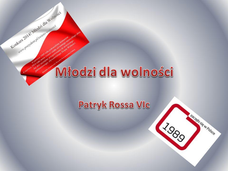 Młodzi dla wolności Patryk Rossa VIc