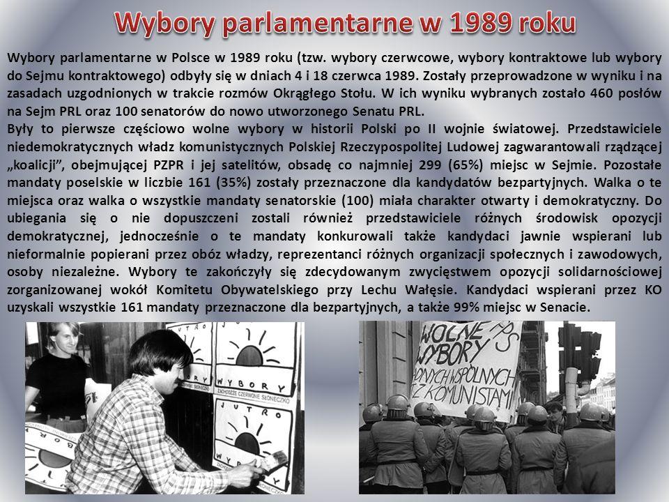 Wybory parlamentarne w 1989 roku