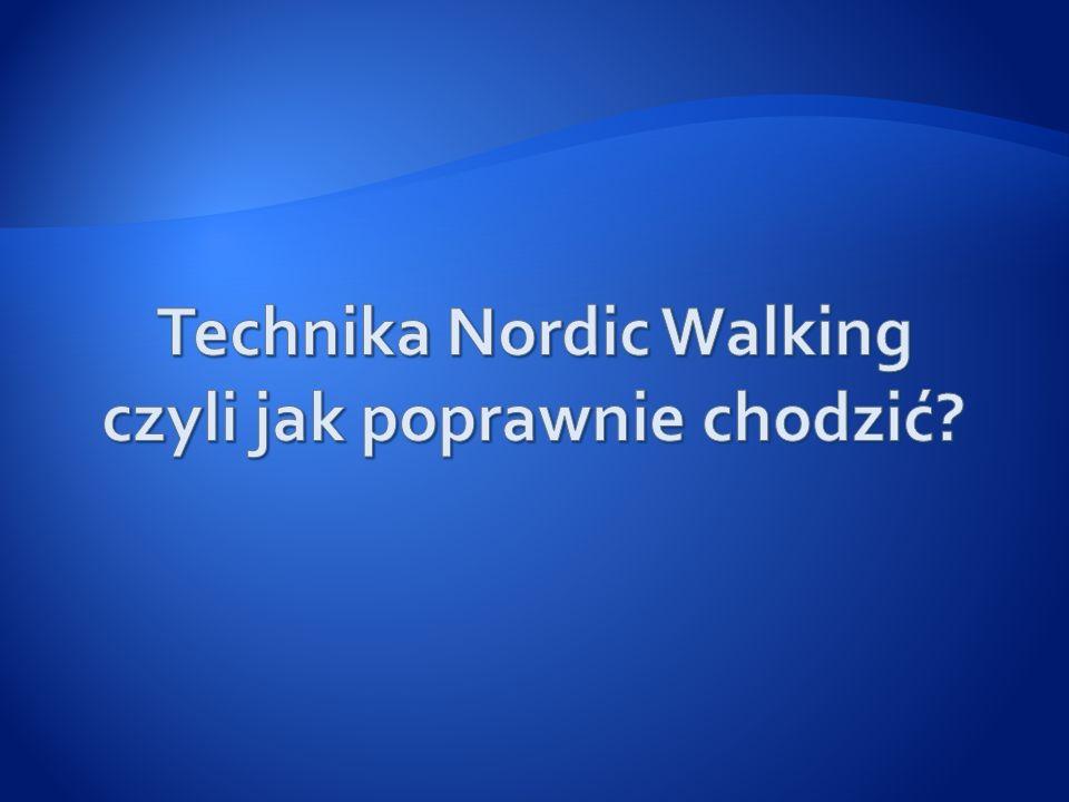 Technika Nordic Walking czyli jak poprawnie chodzić