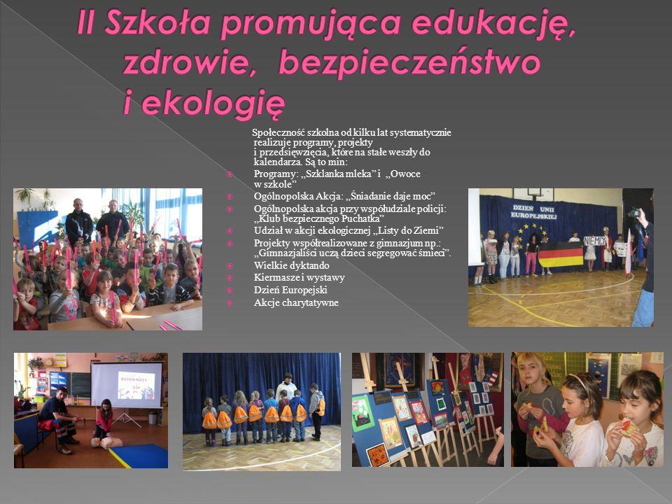 II Szkoła promująca edukację, zdrowie, bezpieczeństwo i ekologię