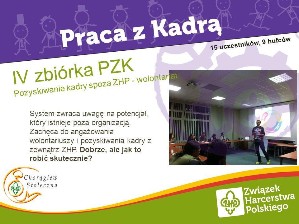 IV zbiórka PZK Pozyskiwanie kadry spoza ZHP - wolontariat